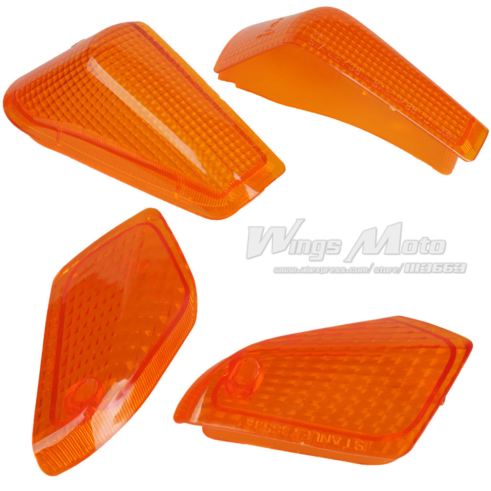Amber Front and Rear Turning Signal Light cover for ZZR250