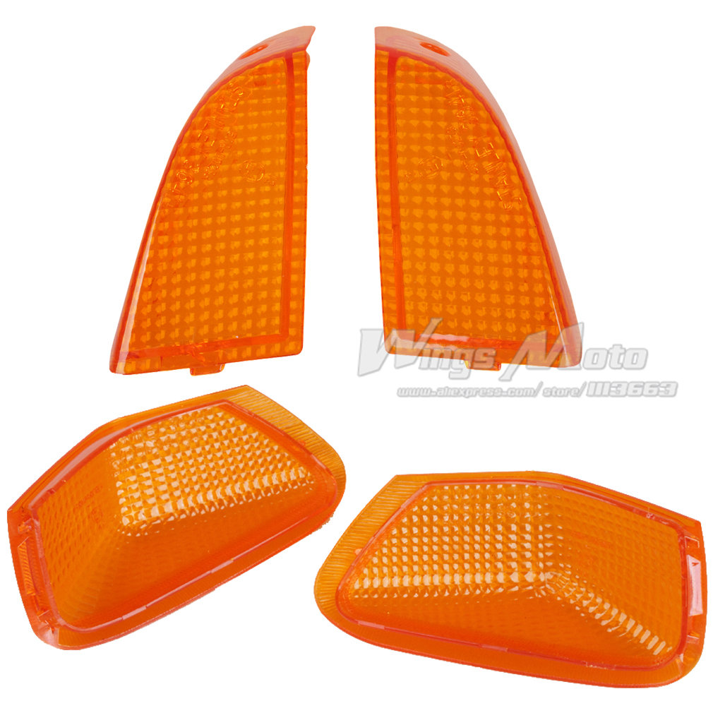 Amber Front and Rear Turning Signal Light cover for ZZR400 92-96