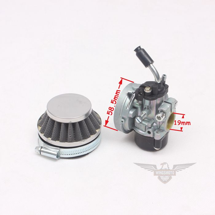 Carburetor + Air Filter 39CC Water Cooled Engine MT A4 Blata STYLE C11 Mini Moto Pocket Bike