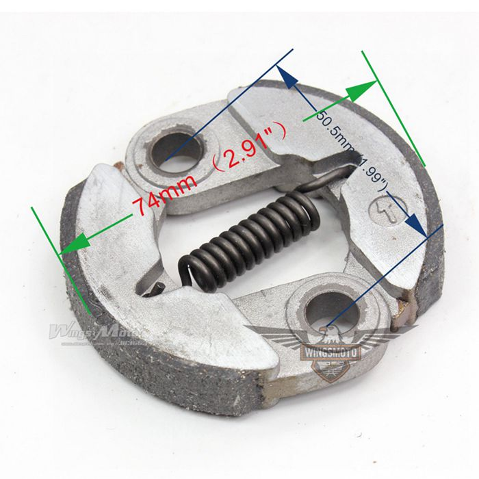 POCKET BIKE CLUTCH for 43CC, 47CC,49CC 2 STROKE X-1, X-2, CAT EYE ALLOY
