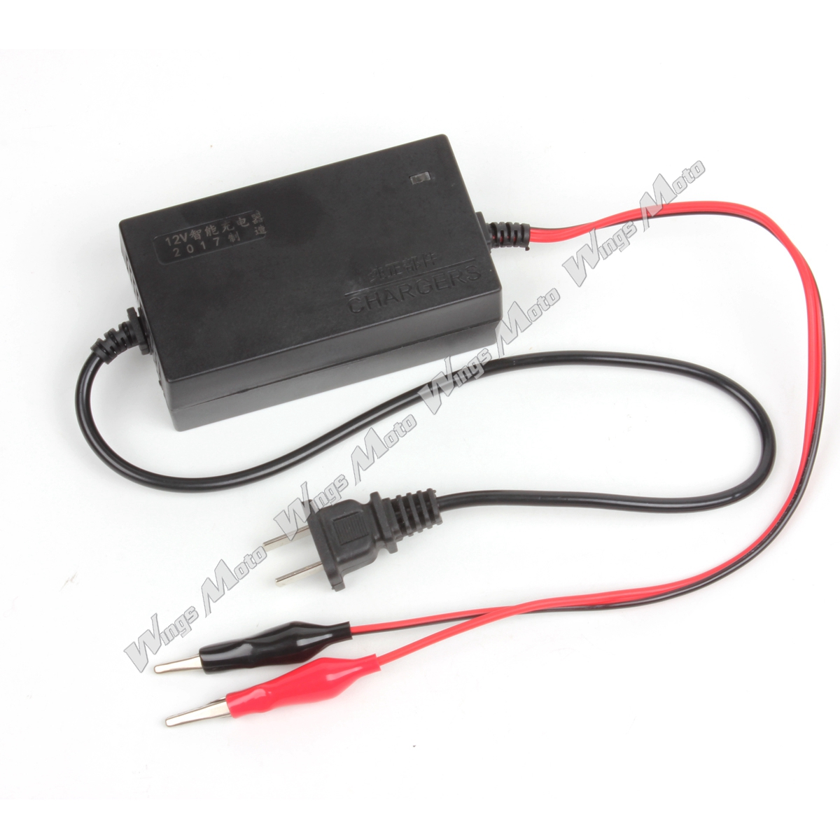 12V Lead-acid Battery Charger for Motorcycle Dirt Pit Bike Moped Scooter ATV
