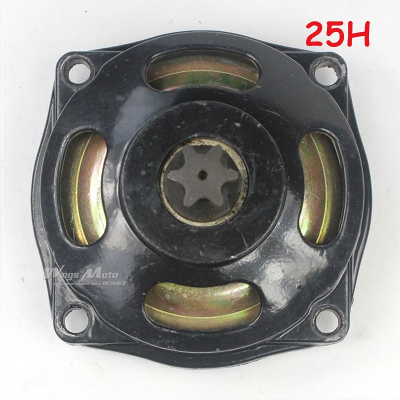 New Gear Box Clutch Drum 47cc 49cc Pocket Bike ATV 25H Chain 6T