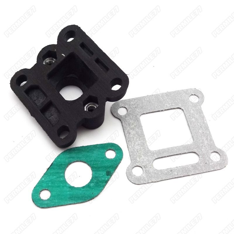 Intake Manifold Inlet With Gasket For 47cc 49cc Mini Pocket Bike