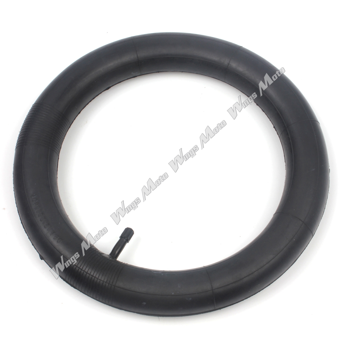 12 1/2 x 2 1/4 Inner Tube w/ TR13 Straight Stem for Razor Pocket Mod Isobutylene Isoprene Rubber