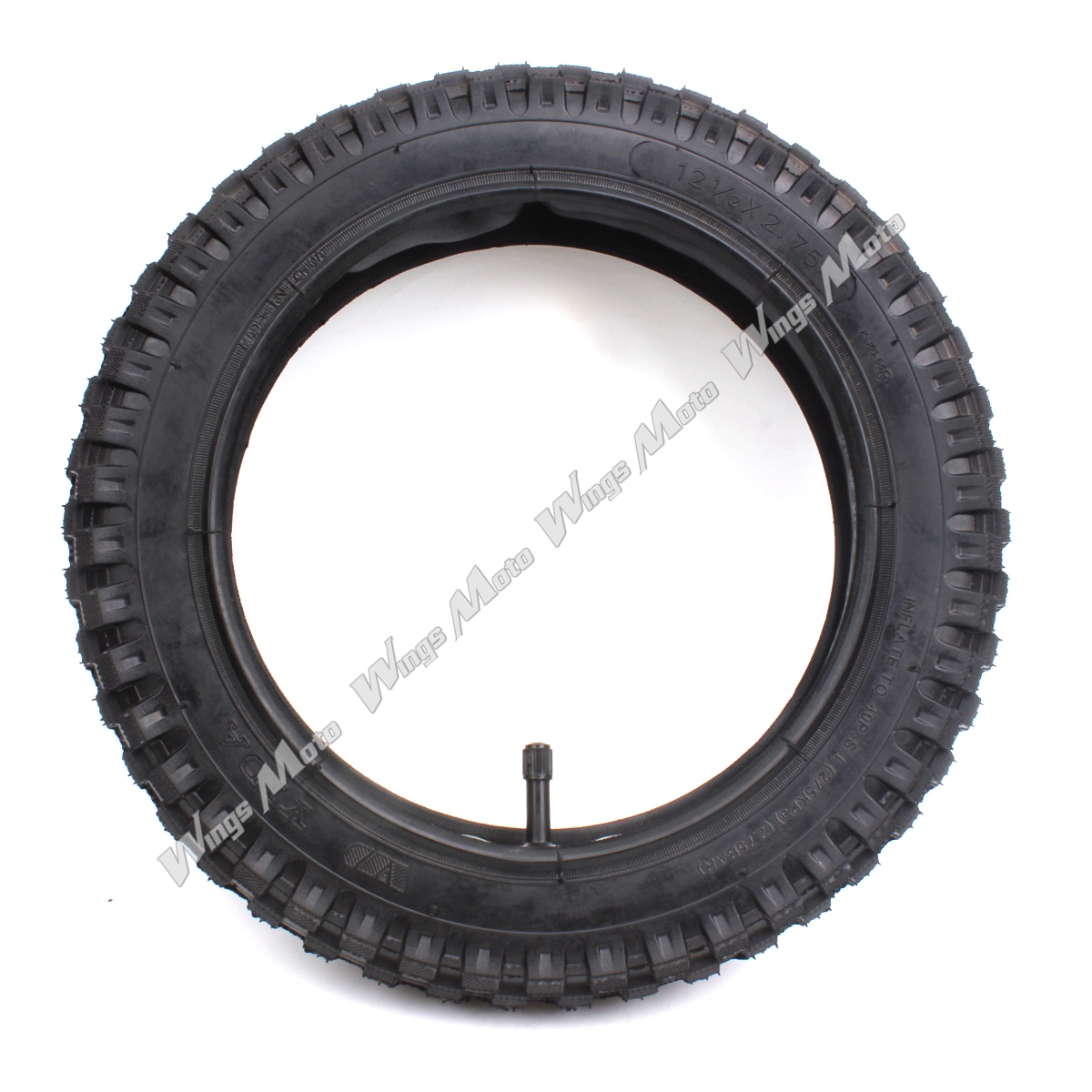 12 1/2 x 2.75 (12.5 x 2.75) Tire + Inner Tube for Razor Dune Buggy Dirt Rocket MX350 MX400 TR13 Stem