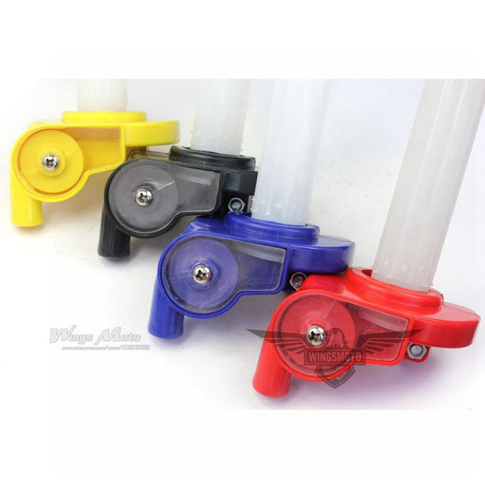 DIRTBIKE PLASTIC THROTTLE CLAMP For HONDA XR CRF50 70 SSR KLX 110 PIT BIKE
