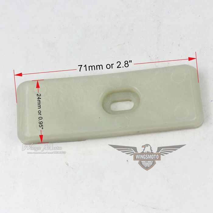 REAR FORK PROTECTOR PAD FOR CHINESE DIRTBIKE PIT BIKE